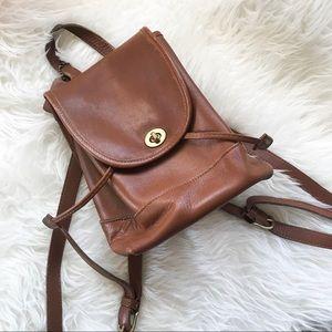 Vintage Coach Mini Daypack no. 9969 British Tan